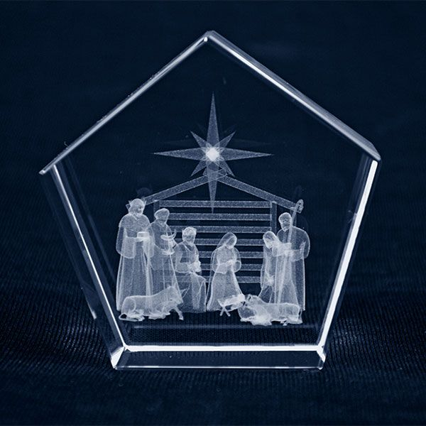 Nativity Pentagon Block